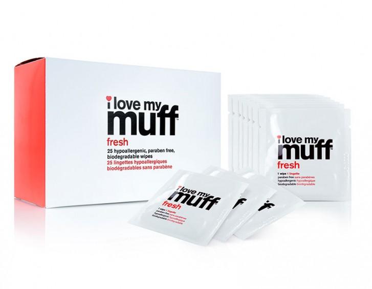 I Love My Muff Wipes