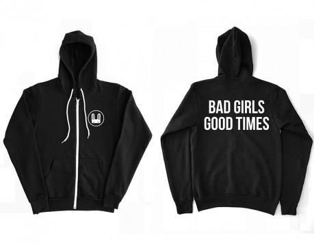 Bad Girls Hoodie – Black
