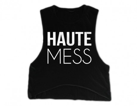 Haute Mess Tank – Black