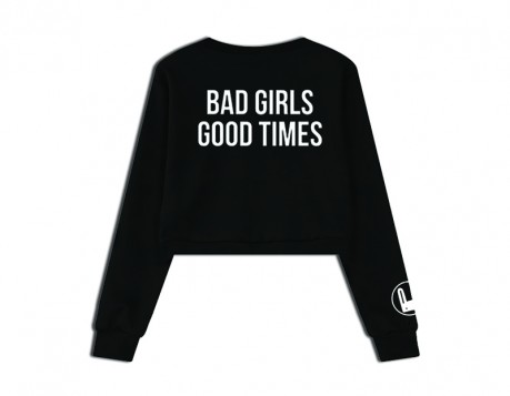 BAD GIRLS CROP SWEATSHIRT